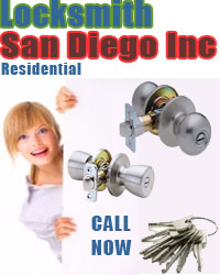 24 Hour Residential Locksmith San Diego